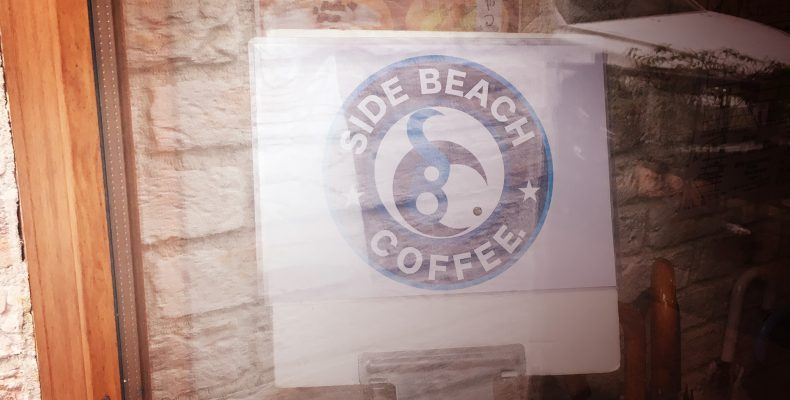 SIDE BEACH COFFEE.